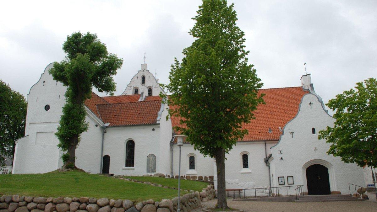 Gudstjeneste i Sct. Catharinæ kirke (altergang)