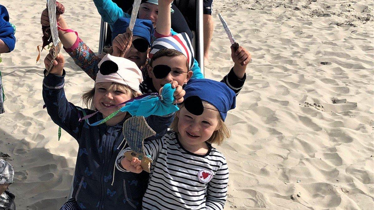 Freizeit auf Langeoog für Familien mit Kindergartenkindern