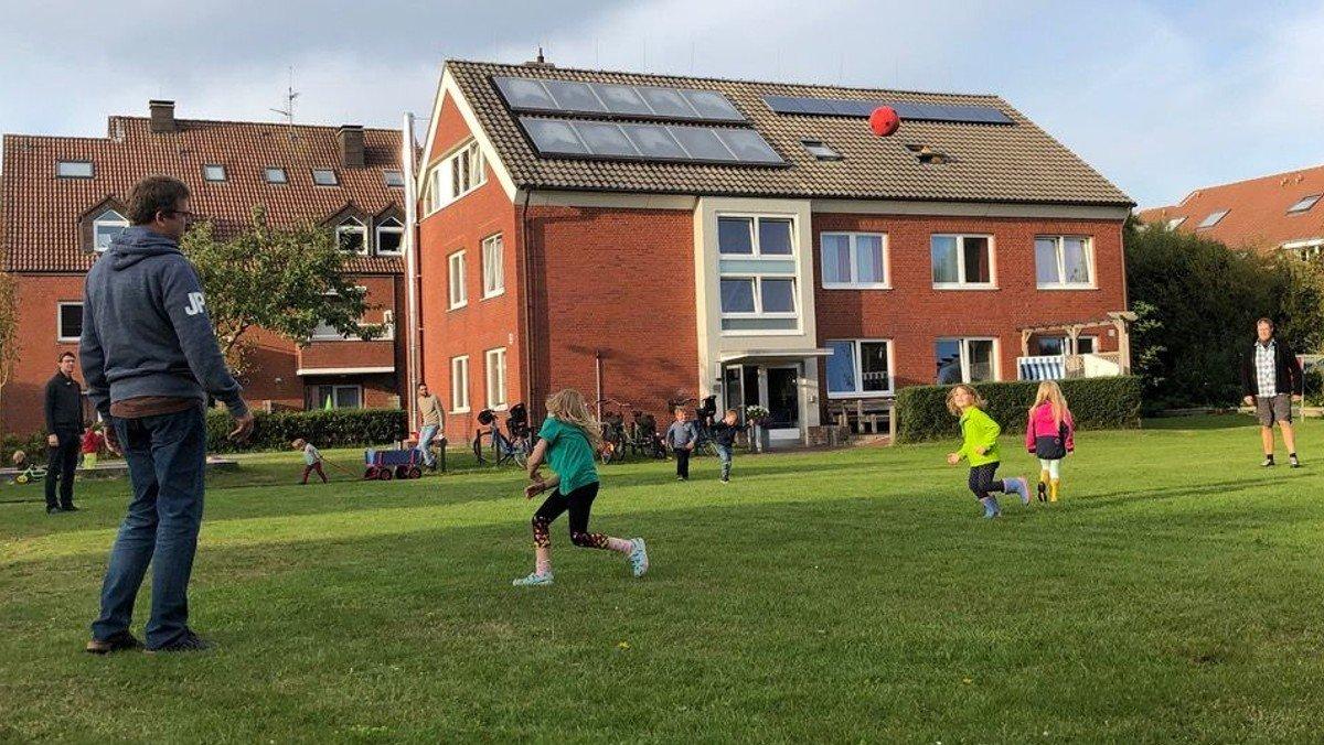 Freizeit auf Langeoog für Familien mit Schulkindern