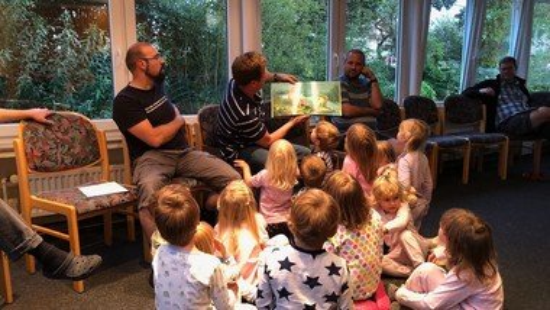 Freizeit auf Langeoog für Väter mit Kindergartenkindern