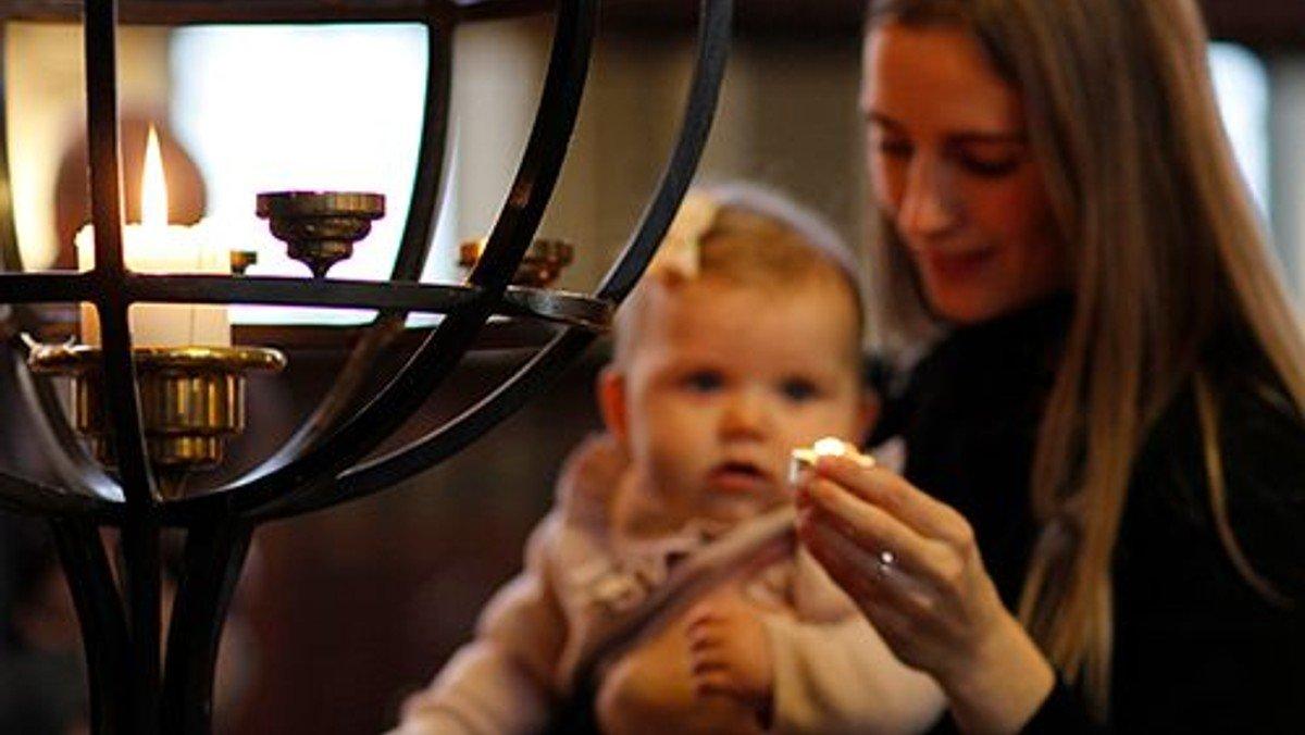 Fælles babygudstjeneste for salmesangholdene i Sct. Matthæus Kirke