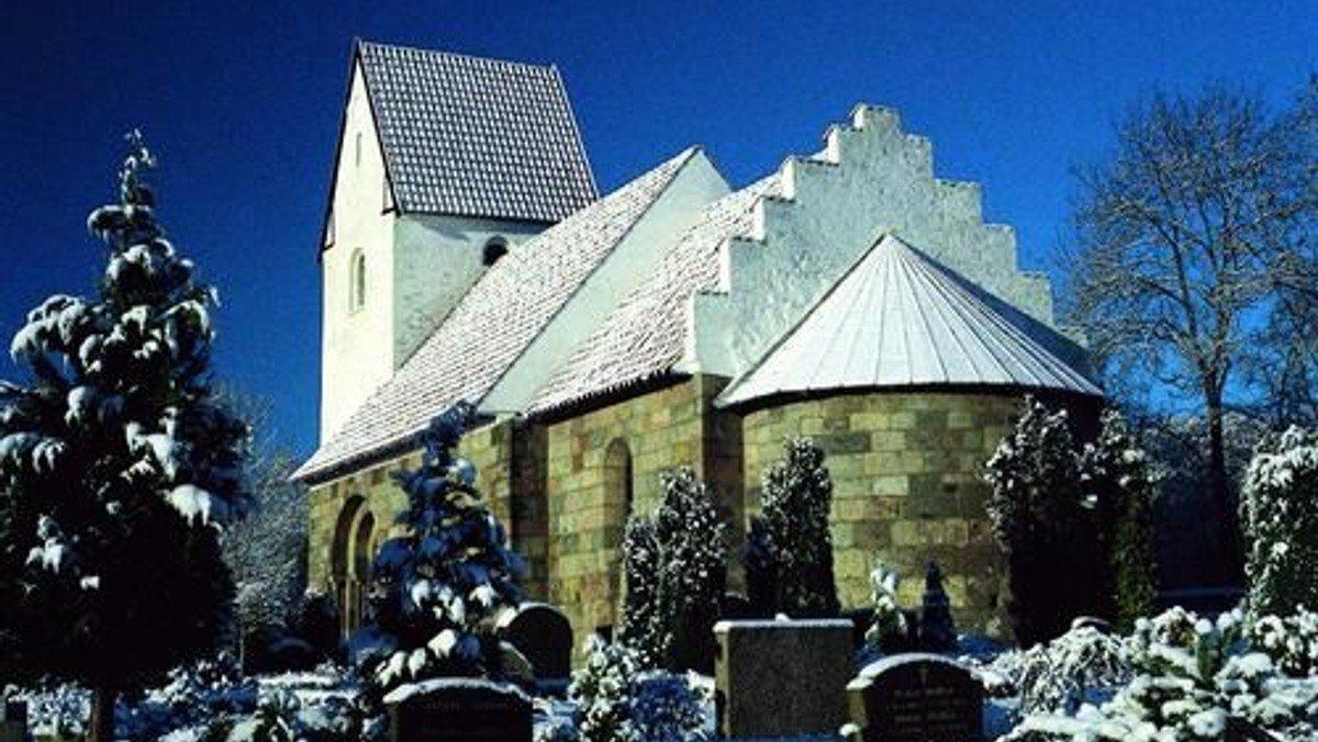 Gudstjeneste i Tapdrup Kirke v. Lise Uhrskov