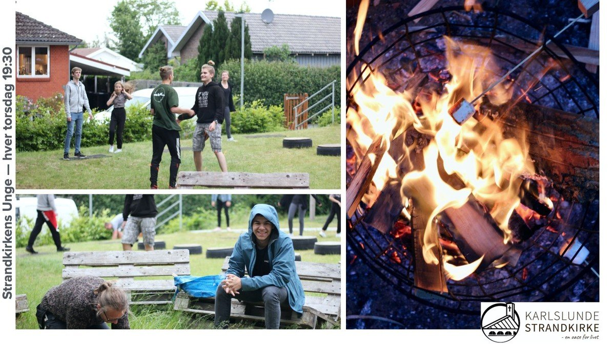 Strandkirkens Unge: Gruppeaften m. Christel