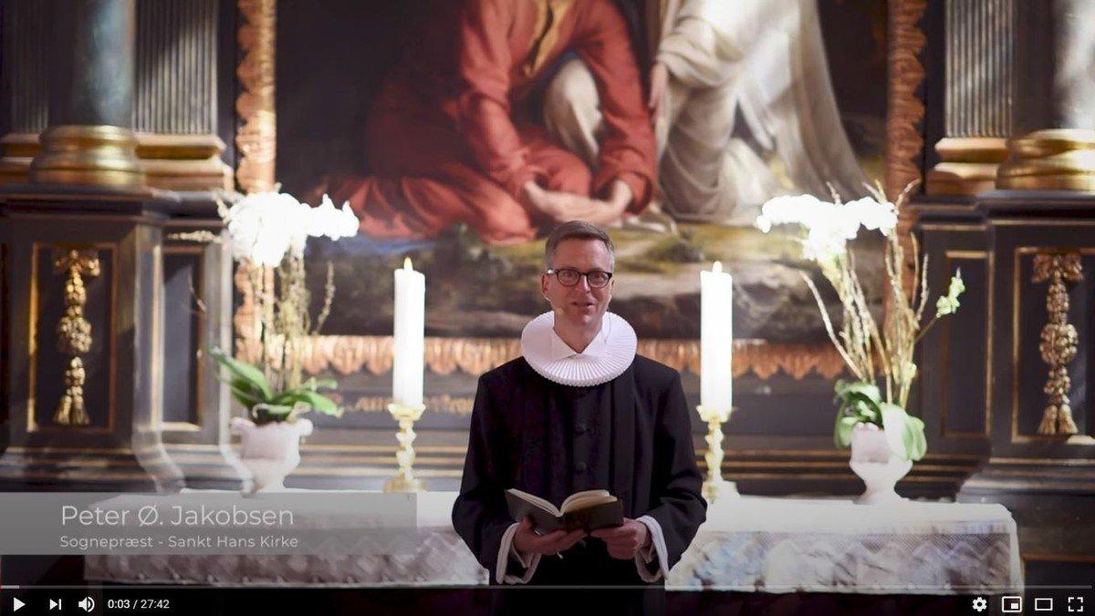 Rytmisk gudstjeneste v. Peter Ø. Jacobsen