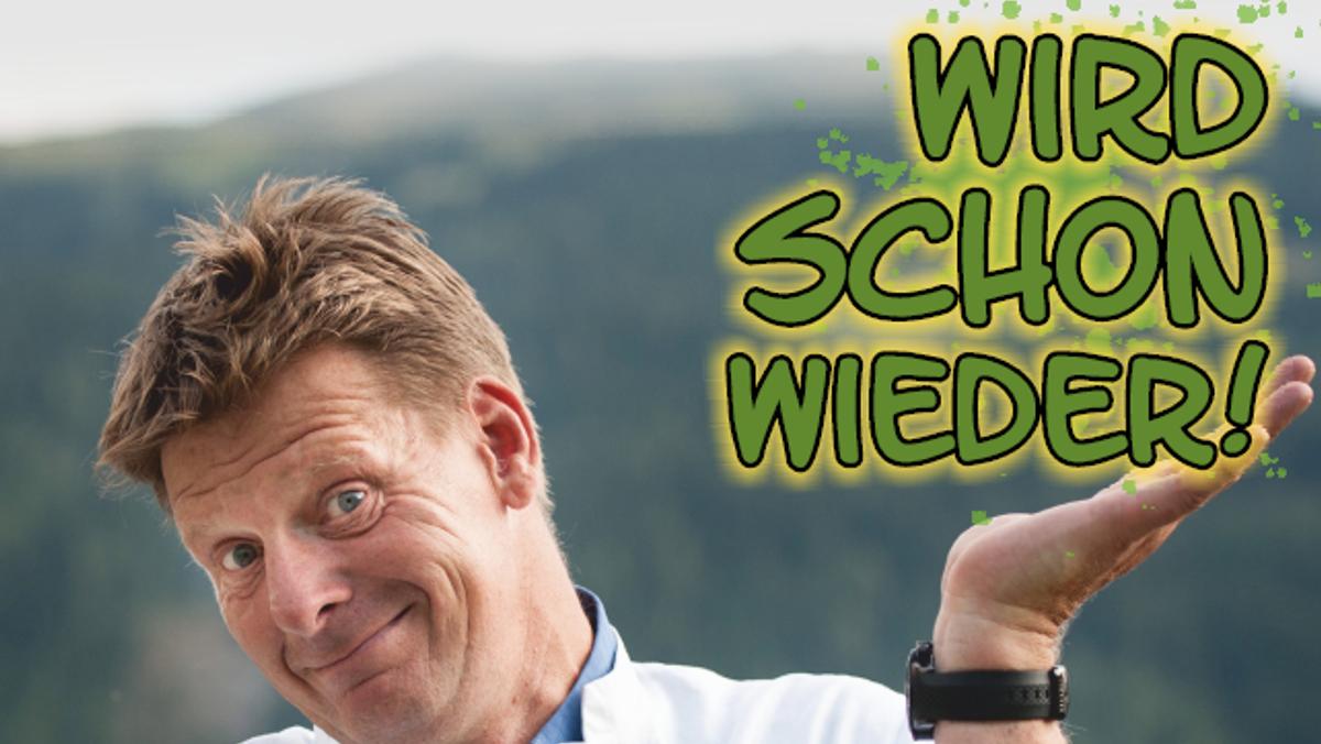 """""""Wird schon wieder"""" Ein medizinisches Überlebensprogramm mit Kabarettist und Arzt Lüder Wohlenberg"""