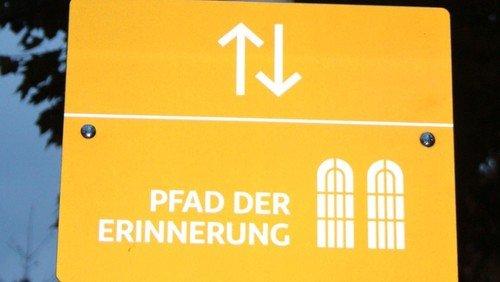 Öffentliche Führung Pfad der Erinnerung. Schwerpunktthema: Die 10 neuen Stelen.
