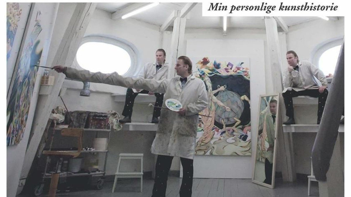 "Foredrag med Martin Bigum: ""Min kunsthistorie"""