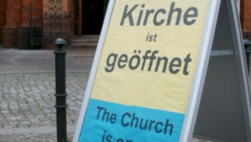 Offene Kirche Samstag von 11-15 Uhr