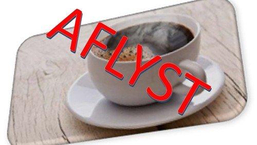 Eftermiddagsklubben AFLYST