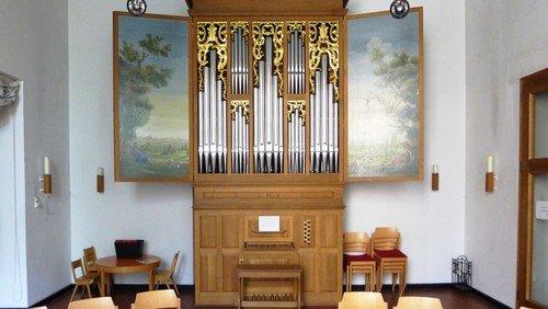 Orgel- und Chormusik mit der italienischen Patrick-Collon-Orgel
