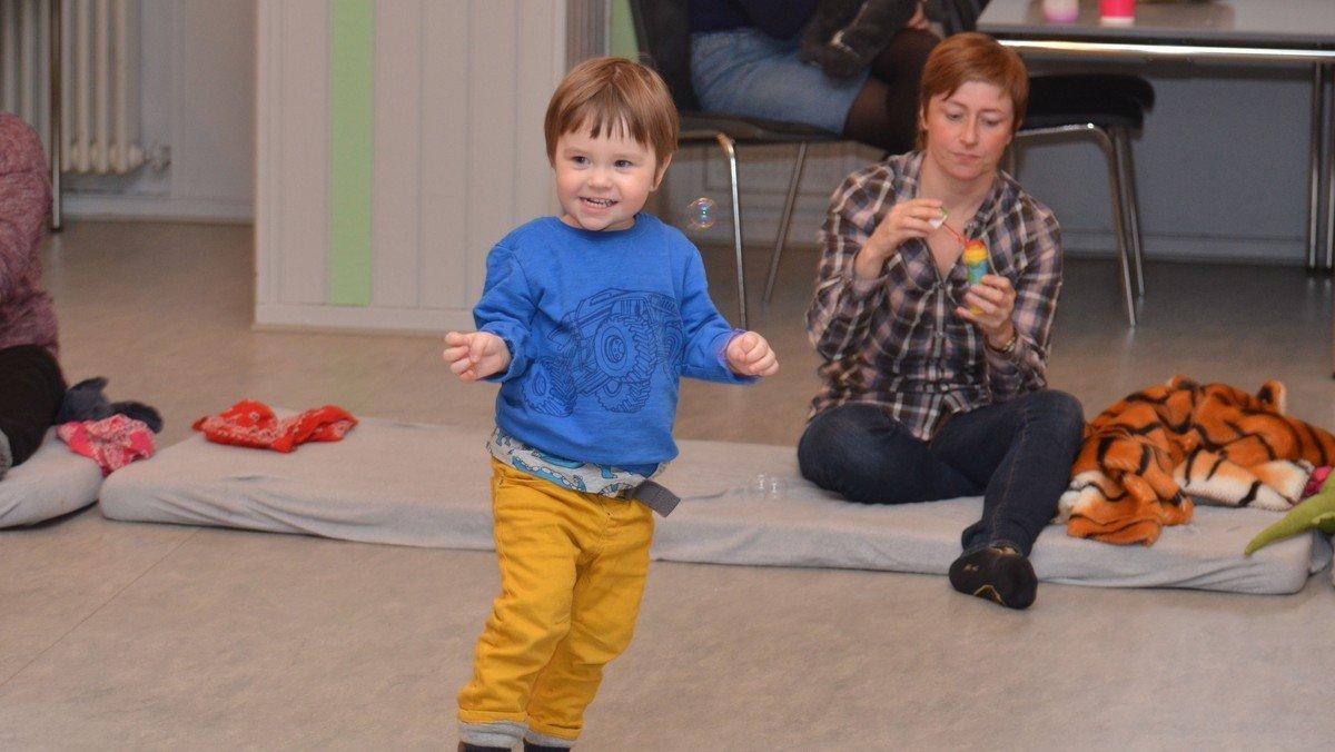 Streaming af musik for børn (2-5 årige)