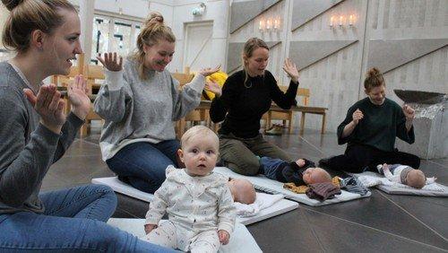 AFLYST - Babysalmesang - opstart af nyt hold