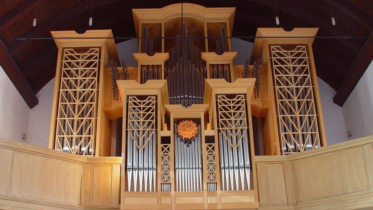 St. Martin auf der Kirchenorgel
