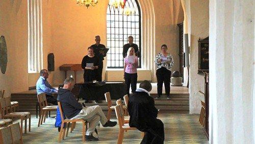 Gudstjeneste Fyld Danmarks Kirker v/ Biskop Marianne Gaarden