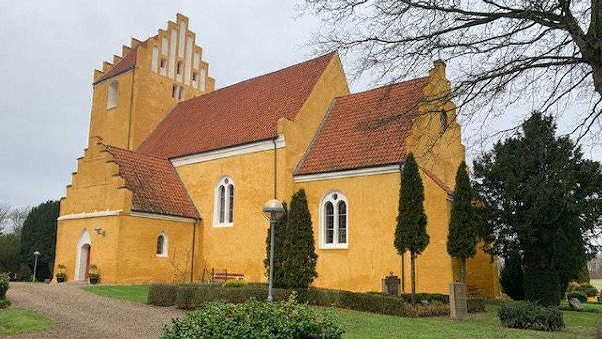 Gudstjeneste i Tjæreby kirke d. 28.2.2021 kl. 10.30