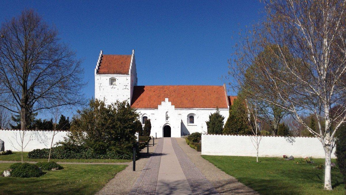 Palmesøndagsgudstjeneste i Ågerup Kirke v. Sophie Juel