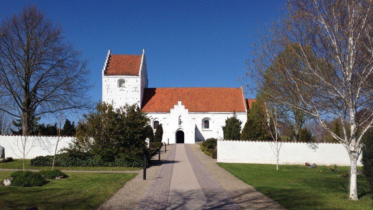 Gudstjeneste i Ågerup Kirke v. Detlef von Holst