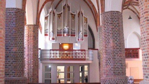 Orgelführung für Schulklassen