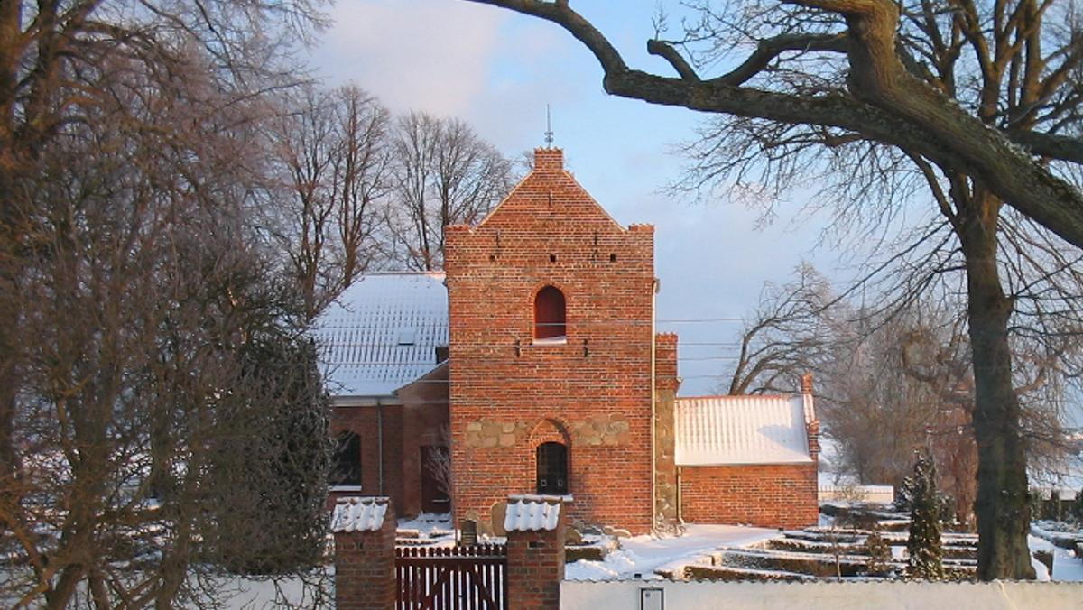 Højmesse i Slagslunde Kirke ved Charlotte Dyremose