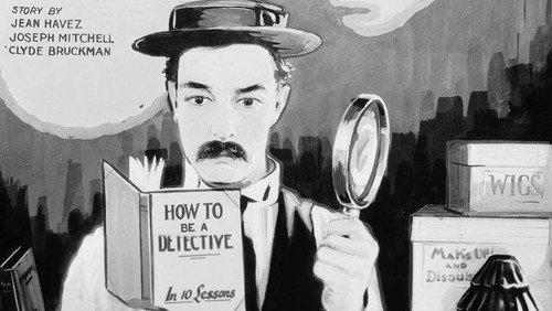 """Stummfilmkonzert """"Sherlock Junior"""" von Buster Keaton mit Orgel- und Klavierbegleitung"""
