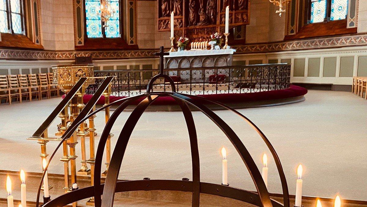 Nadverandagt i kirken
