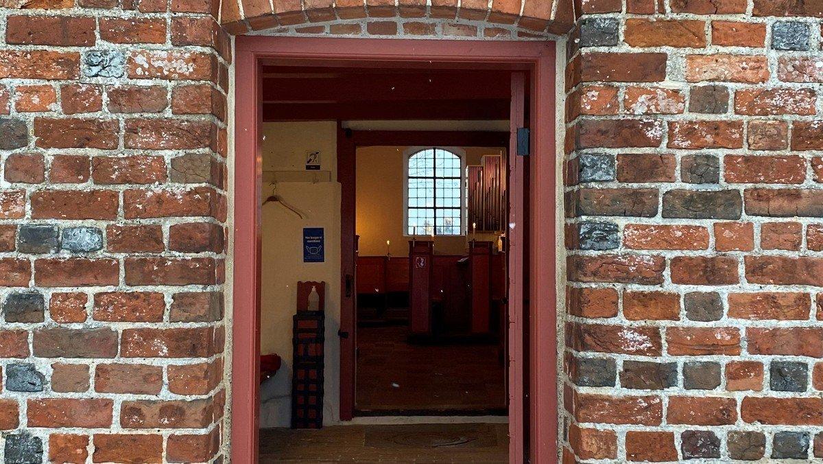 Åben kirke i Slagslunde Kirke ved Malene Buus Graeser