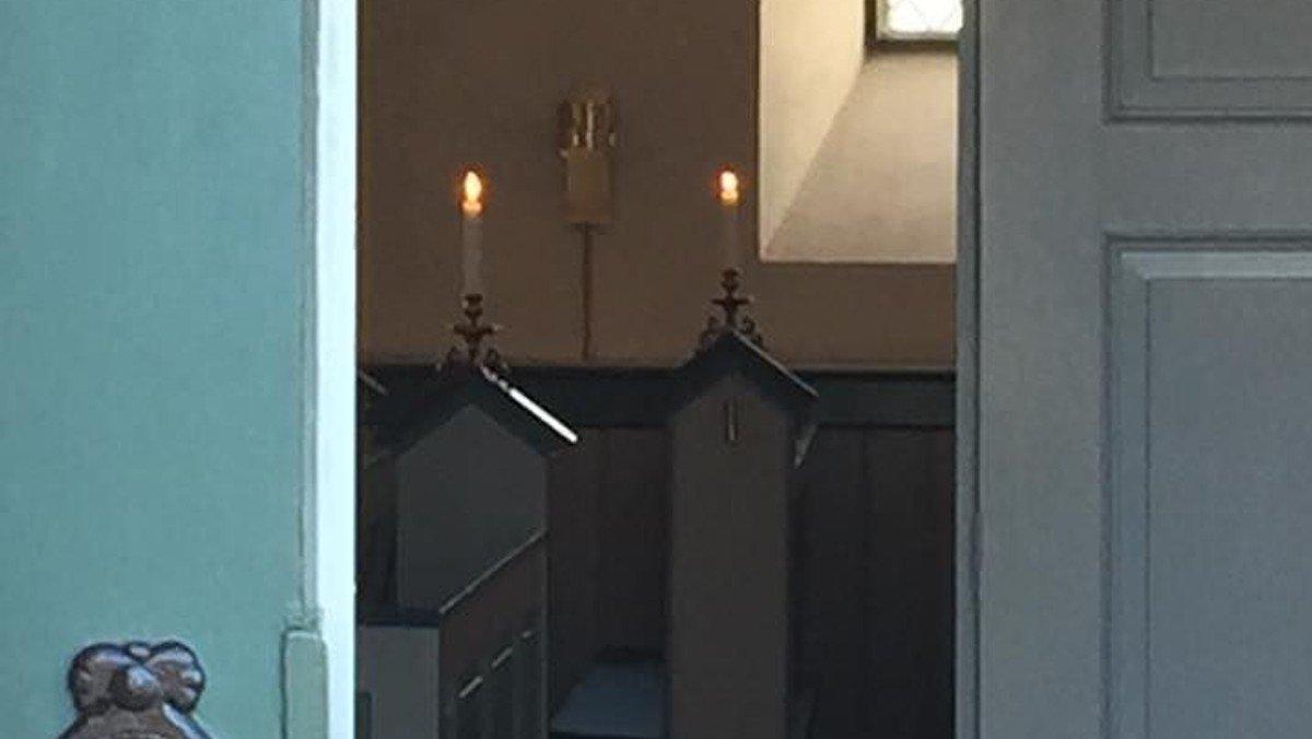 Åben kirke i Ganløse Kirke ved Malene Buus Graeser