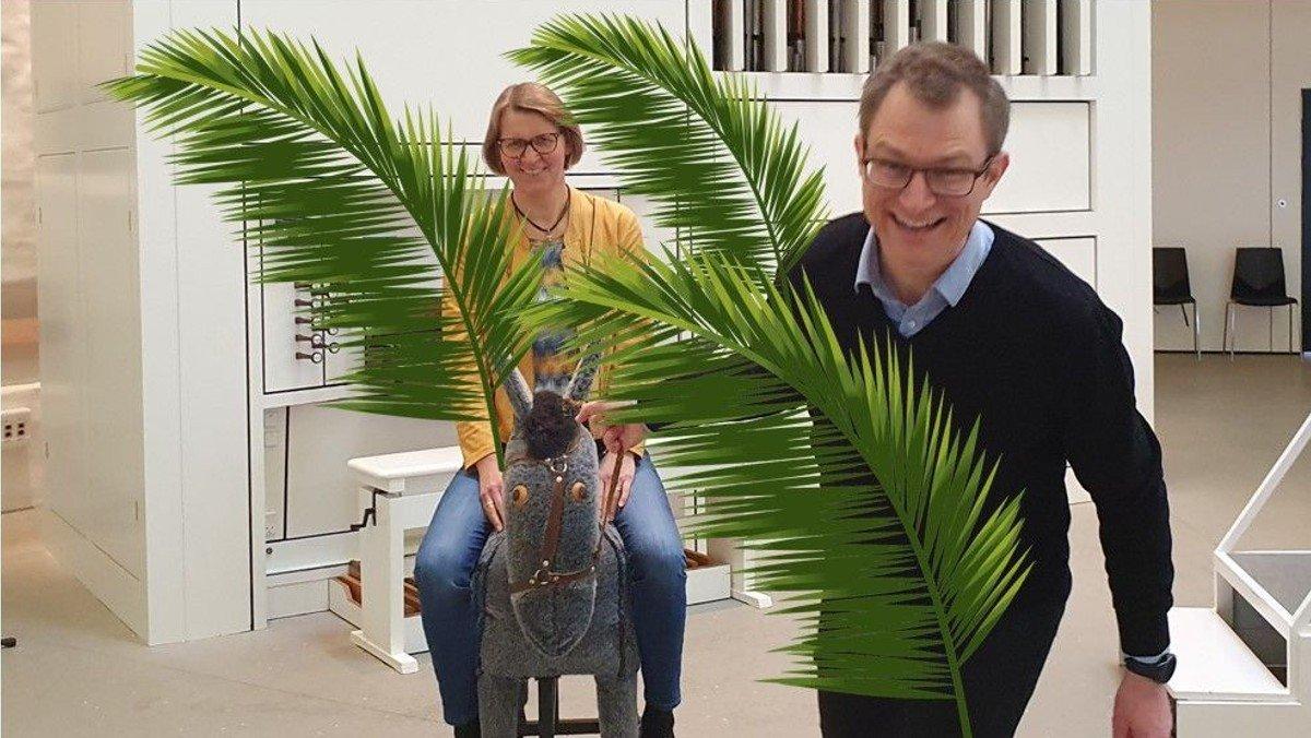 Familiegudstjeneste - palmesøndag - TILMELDING klik her