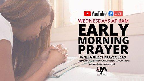 YA Early Morning Prayer 6AM