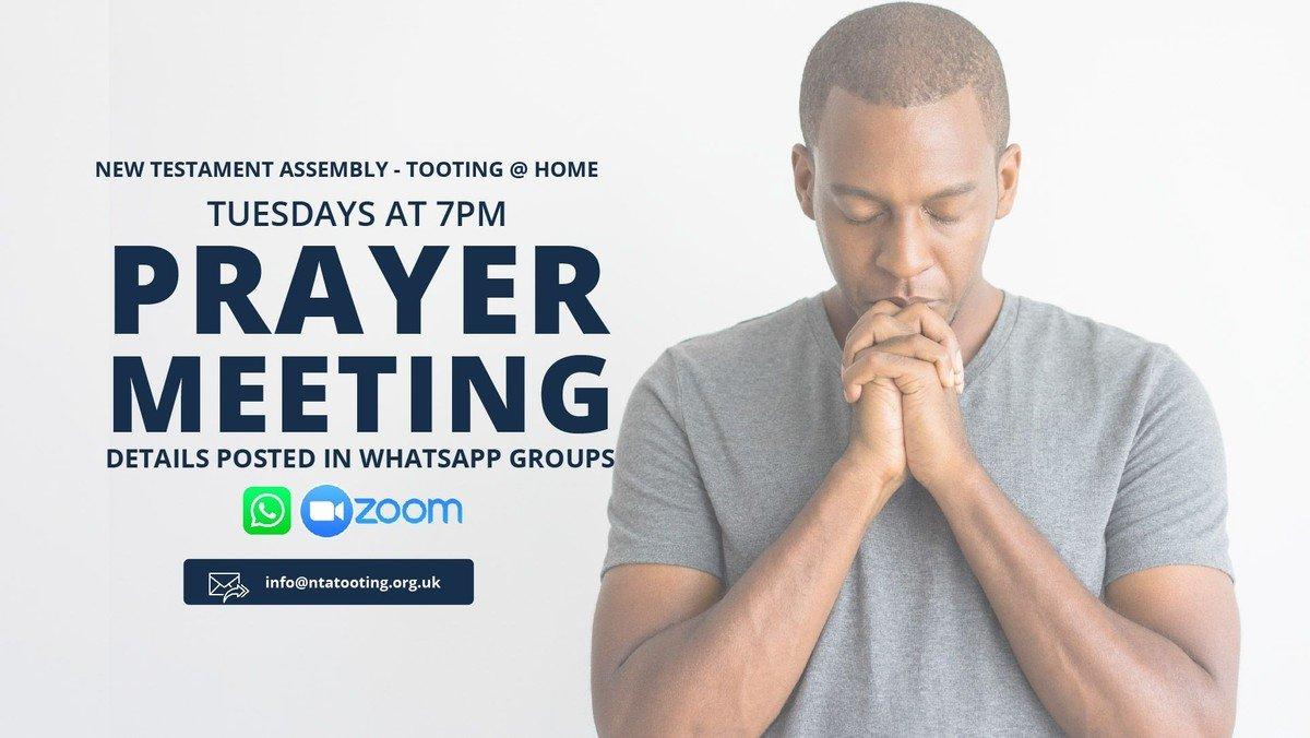 Prayer Meeting via Zoom