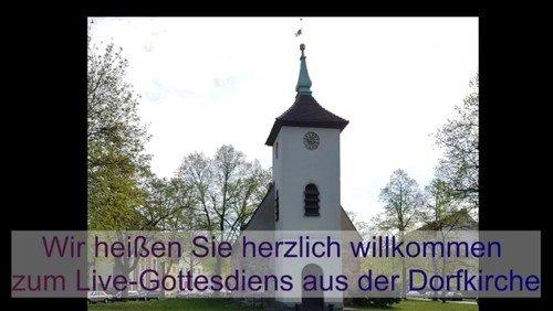 LIVESTREAM-Gottesdienst aus der Dorfkirche Alt-Reinickendorf