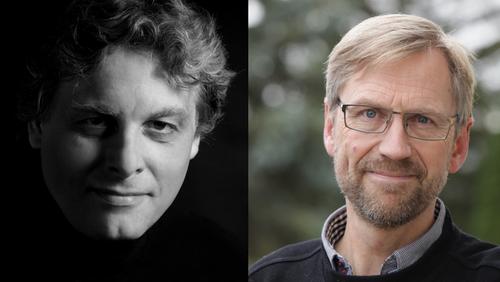Koncert. med Morten Frank Larsen og Poul S. Jacobsen