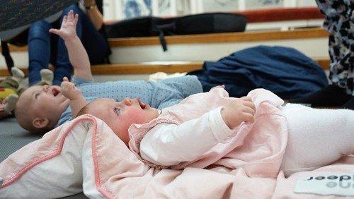 Nyt hold babysalmesangsforløb starter den 6. april kl. 10.00