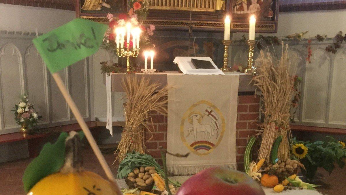 Gottesdienst zum Erntedankfest in St. Urbani