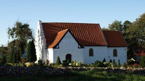 Gudstjeneste Vester Alling Kirke - Palmesøndag