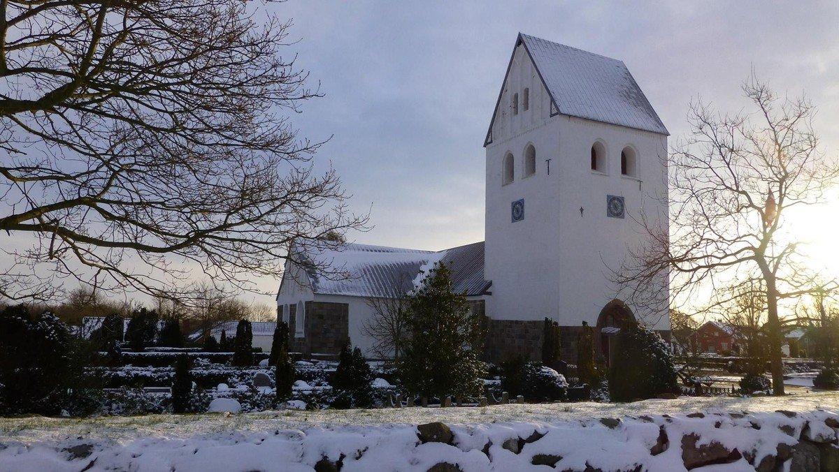 Nadvergudstjeneste, Hvidbjerg Kirke