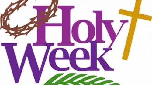 Evening Prayer for Holy Week