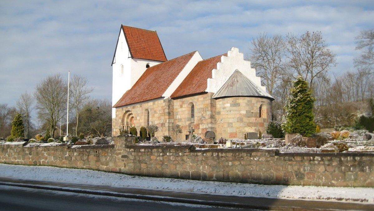 Nadvergudstjeneste skærtorsdag i Tapdrup Kirke, v. Lise Uhrskov