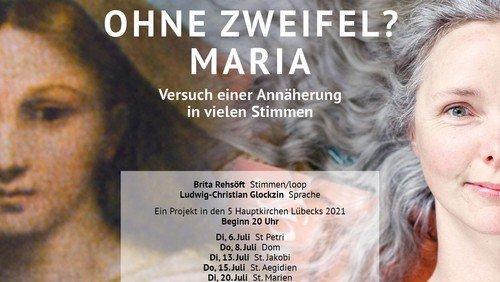 Konzert OHNE ZWEIFEL? MARIA - Brita Rehsöft