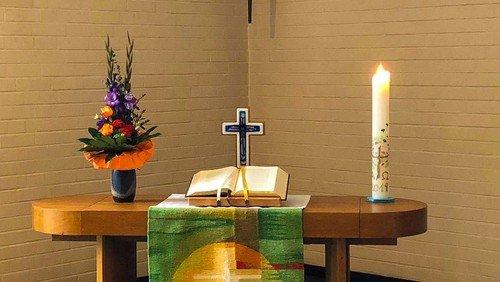 Gottesdienst in Lützenkirchen zu Karfreitag