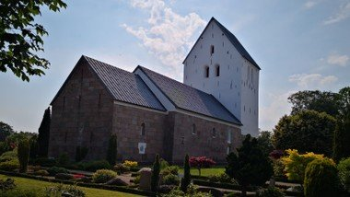 Kort morgengudstjeneste i Hellevad Kirke