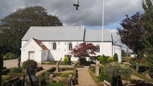 Palmesøndagsgudstjeneste i Ørum Kirke