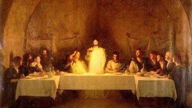 Maundy Thursday: Last Supper Service by Zoom