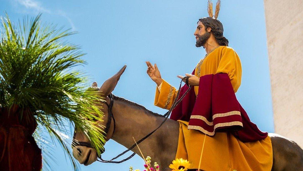 Palmesøndagsgudstjeneste i Asaa