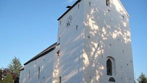 A F L Y S T  -   Fyraftensgudstjeneste i Nørre Snede Kirke - Tid til stilhed og eftertanke.