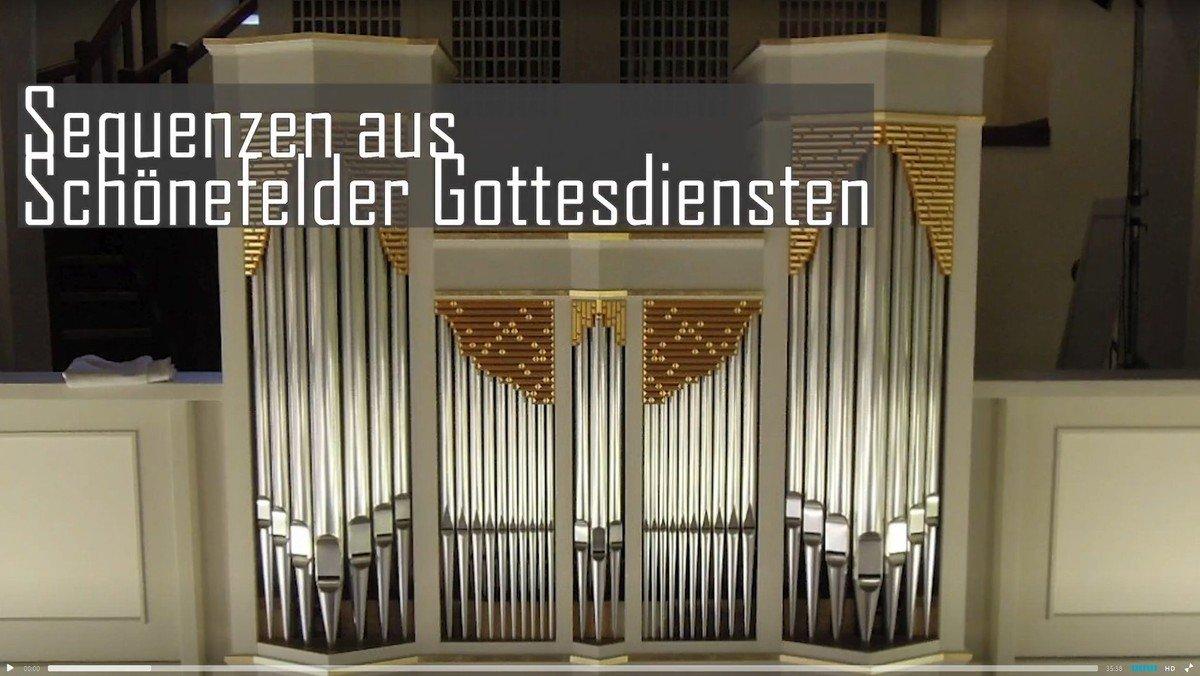 """Orgelband DIGITAL:  """"Orgel plus"""" - Sequenzen aus Schönefelder Gottesdiensten"""
