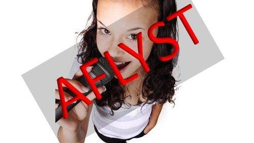 AFLYST!!! Spirekor (0. - 2. klasse)
