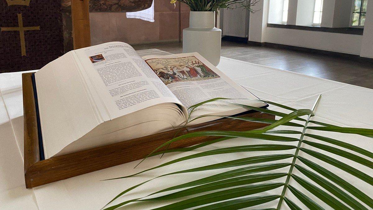 Gottesdienst am Palmsonntag
