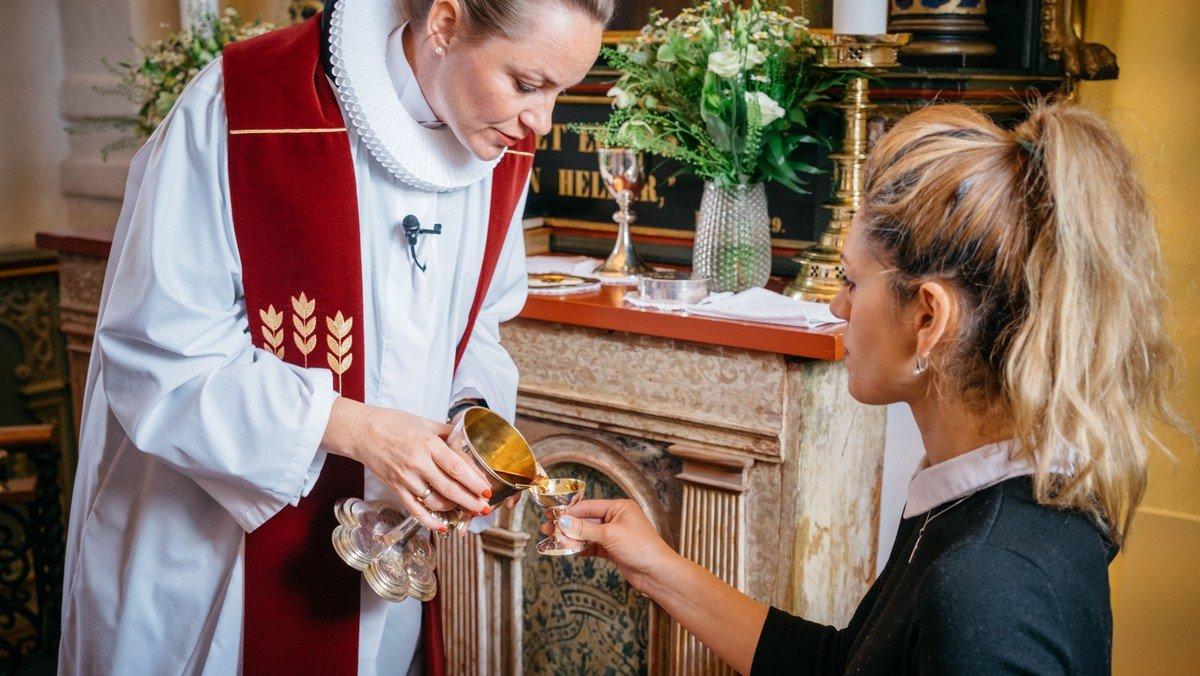 Gudstjeneste i Ganløse Kirke ved Malene Buus Graeser
