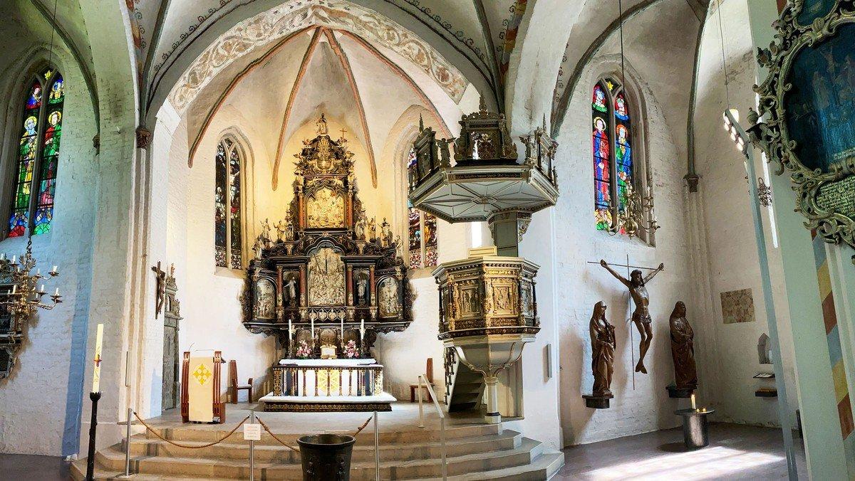 Gottesdienst in der St. Marien-Kirche mit Gebärdensprachdolmetscher